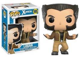 Marvel Comics X-Men Logan / Wolverine Vinyl POP! Figure Toy #185 FUNKO N... - $12.55