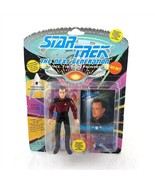 Star Trek The Next Generation Q Action Figure Collector Card Playmates 1993 - $12.86