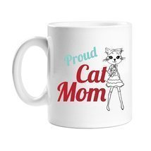Proud Cat Mom Coffee Mug - $14.69