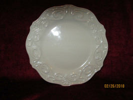 JCPenny chris madden Corvella ivory salad  plate - $7.87