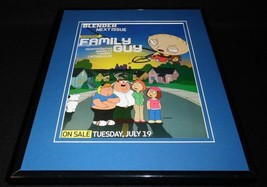 Family Guy 2005 Fox Framed 11x14 ORIGINAL Vintage Advertisement Stewie G... - $22.55
