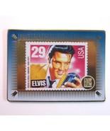 1993 Metallic Images Promo Sample Elvis Gold Trading Card Featuring Elvi... - $8.99