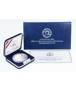 2002 US Militaire Academy Du Bicentenaire Argent Tangible Pièce Avec Boite - $56.94