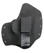 Glock 20 21 30 29 Rt. Draw Kydex & Leather Hybrid IWB Tuckable Holster - $47.00