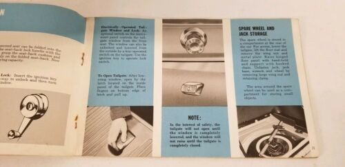 1963 Dodge Dart Owners Manual And Owners Service Certificate Book image 8