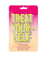 Aloe Vera Cucumber Scented Face Mask Treat Yourself Cruelty-Free - £4.59 GBP