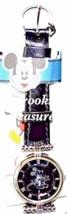 Disney Mickey Mouse Watch Fossiil Women's Dial Jet Black W/ Prism Crystal Watch - $128.65