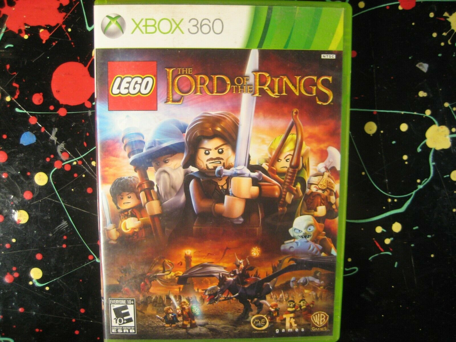 Lego LOTR The Lord of the Rings Xbox 360 Adventure Game - $13.75