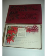 12 Sheet Calendar Postcard Like in Original Box 1927 - $19.99