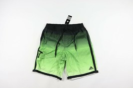 Neuf Adidas Homme M Sort Out Rayé Plage Volley-Ball Short Vert - $37.80
