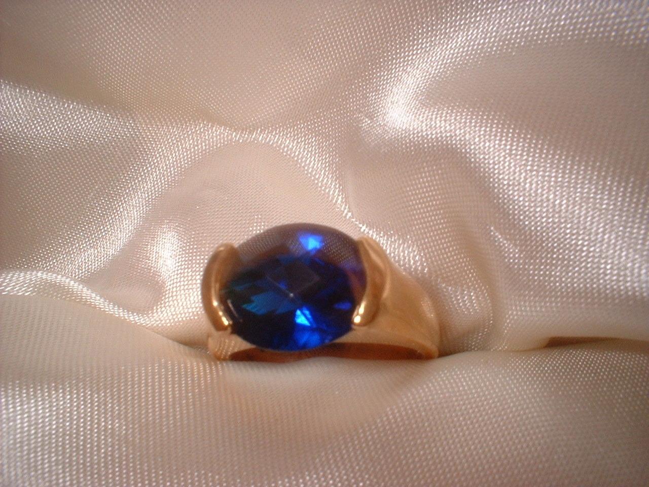 Bb sapphire ring