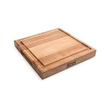 John Boos Block CB1052-1M1212175 Maple Wood Square Cutting Board with Ju... - $68.37