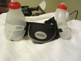 Perfect Dual Hydration Belt, Black/White - $12.00