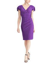Lauren by Ralph Lauren Women Dame Purple Dress, 12,  2543-3 - $55.53