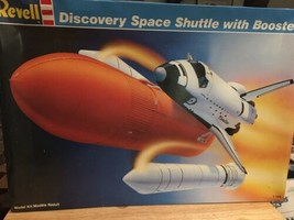 Revell Space Shuttle Discovery and Booster Rockets 1:144 Scale Model - $31.68