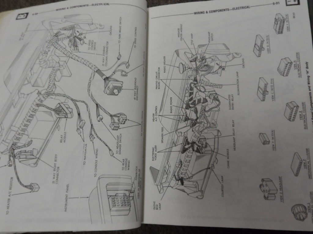 1985 Chrysler Mopar NEW YORKER Service Shop Repair Workshop Manual Set OEM Book