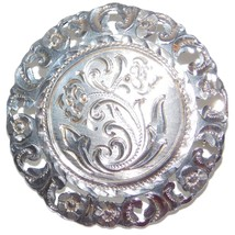Vintage Buenos Aires 900 Silver Brooch from 1966, Excellent Condition - $38.50