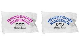 Rhodesian Ridgeback Mom and Dad Pillowcases (Couple) - $19.55