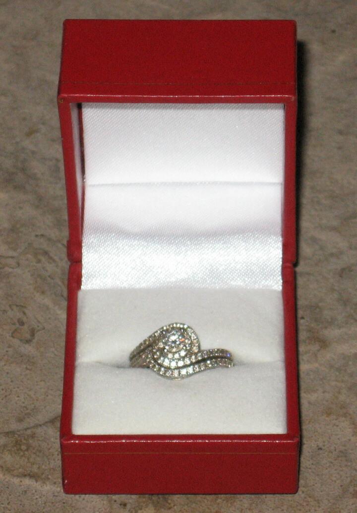 beac06a5b58e Ring 1. Ring 1. Tolkowsky Engagement Ring   Wedding Band Set 3 4 ct tw Diamonds  14K White Gold · Tolkowsky Engagement Ring   Wedding ...