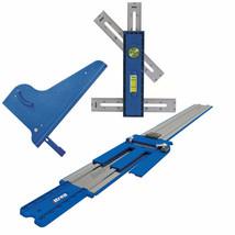 Circula Saw Guide Track Square Cut Multi Mark Measuring Tool Plywood Cut... - $210.36
