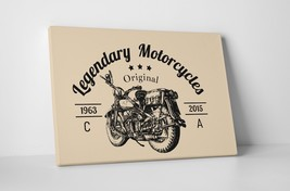 "Legendary Motorcycles Pop Art Gallery Wrapped Canvas Print. 30""x20 or 20... - $42.52+"