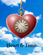 Inspirational Encouragement Card With Red Heart Pocketwatch: Your Answers - $5.00