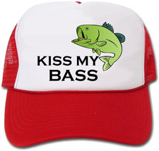 Kiss My Bass Hat/Cap - $14.40