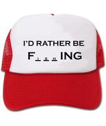I'd Rather Be Fishing Hat/Cap - $14.40