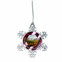 Holly Road Rocky Mountain National Park Christmas Ornament Choose Snowma... - $14.84