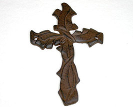 Brown Iron Cross with Twisted Design - $6.99