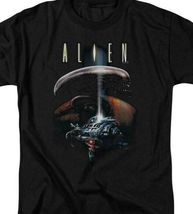 Alien t-shirt Spaceship Officer Ripley retro science fiction graphic tee TCF272 image 3