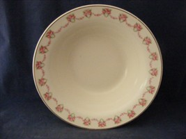 """Limoges USA Charmaine 8.75"""" Serving Bowl Pink Rose Swags 22 K gold - $19.95"""