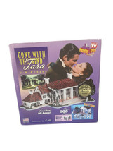 NEW Gone With The Wind Tara 3D Puzzle Plex 500 Pieces MADE IN USA Vintage  - $28.03