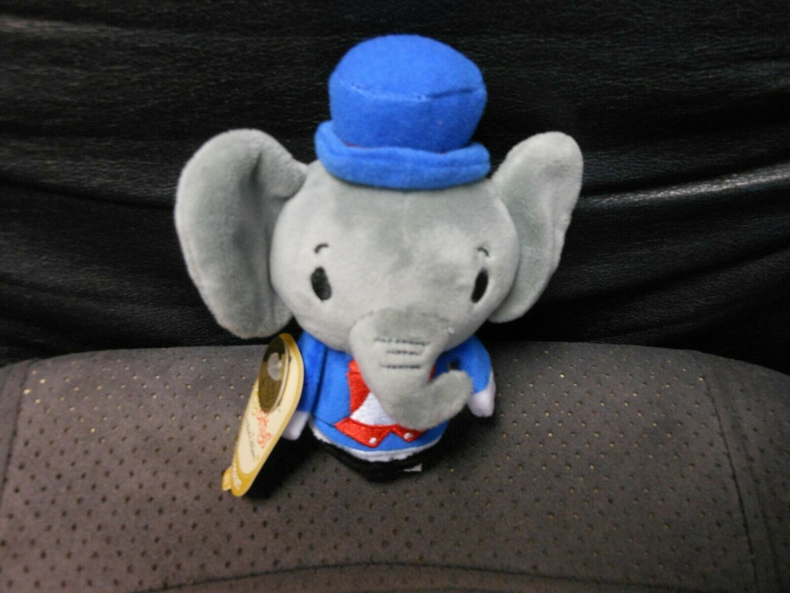 "Primary image for Hallmark Itty Bitty's ""Patriotic Elephant"" 2016 NEW Limited Ed. CREASE ON TAG"