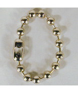 12 XL BALL CHAIN FASHION BRACELET jewelry arm anklet metal connect goth ... - $22.55