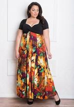 Igigi Womens Dress Maxi 26 28 4X Plus Size Christina Style Made USA Line... - $94.04