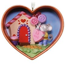 Be Mine, Cookie Cutter Mouse Ornament - $9.89