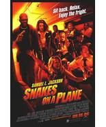 Snakes On A Plane Regular Double Sided Original Movie Poster 27x40 - $14.99