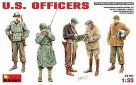 *Mini Art 1/35 US military officer figure five bodies entering Plastic - $43.89