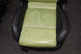 00-04 Volkswagen Vw Beetle Bug Hatchback Turbo GLS Leather Seat Set Green & BLK image 7