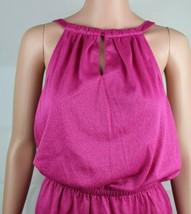 Calvin Klein women's top sleeveless pink glitter size S/P image 2