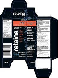 Retaine PM by ocusoft 3.5G ointment Free shipping