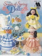 Scents of Spring Dolls Annie's Crochet Air Freshener Doll Clothes Patter... - $7.95