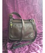 Vintage Fossil 1954 Leather Crossbody / Shoulder Bag (75082), EUC - $68.60