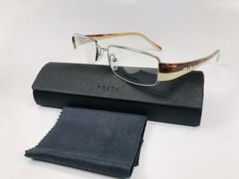 New PRADA VPR 74H 78S-1O1 Transparent Havana & Beige Eyeglasses 51mm with Case - $84.10