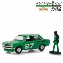 Greenlight 1:64 Diecast Model Car - The Hobby Shop S5 1970 Datsun 510 w ... - $31.19