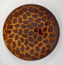 Casa Moda Giraffe Print Dinner Plate - $14.84