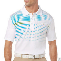 PGA TOUR Pro Series Motion Print Polo Shirt Size S New Msrp $60.00 - $19.99