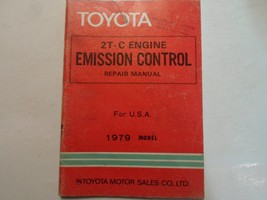 1979 Toyota 2T-C Engine Emission Control Service Repair Shop Manual OEM ... - $17.77