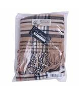 Men Women Wool Plaid Cashmere Feel Classic Soft Luxurious Winter Scarf (... - £20.89 GBP